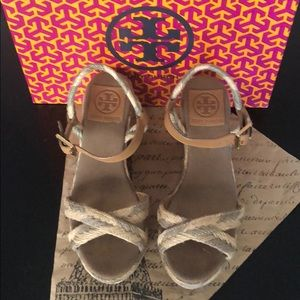 Tory Burch Camelia Mid Wedge Espadrille